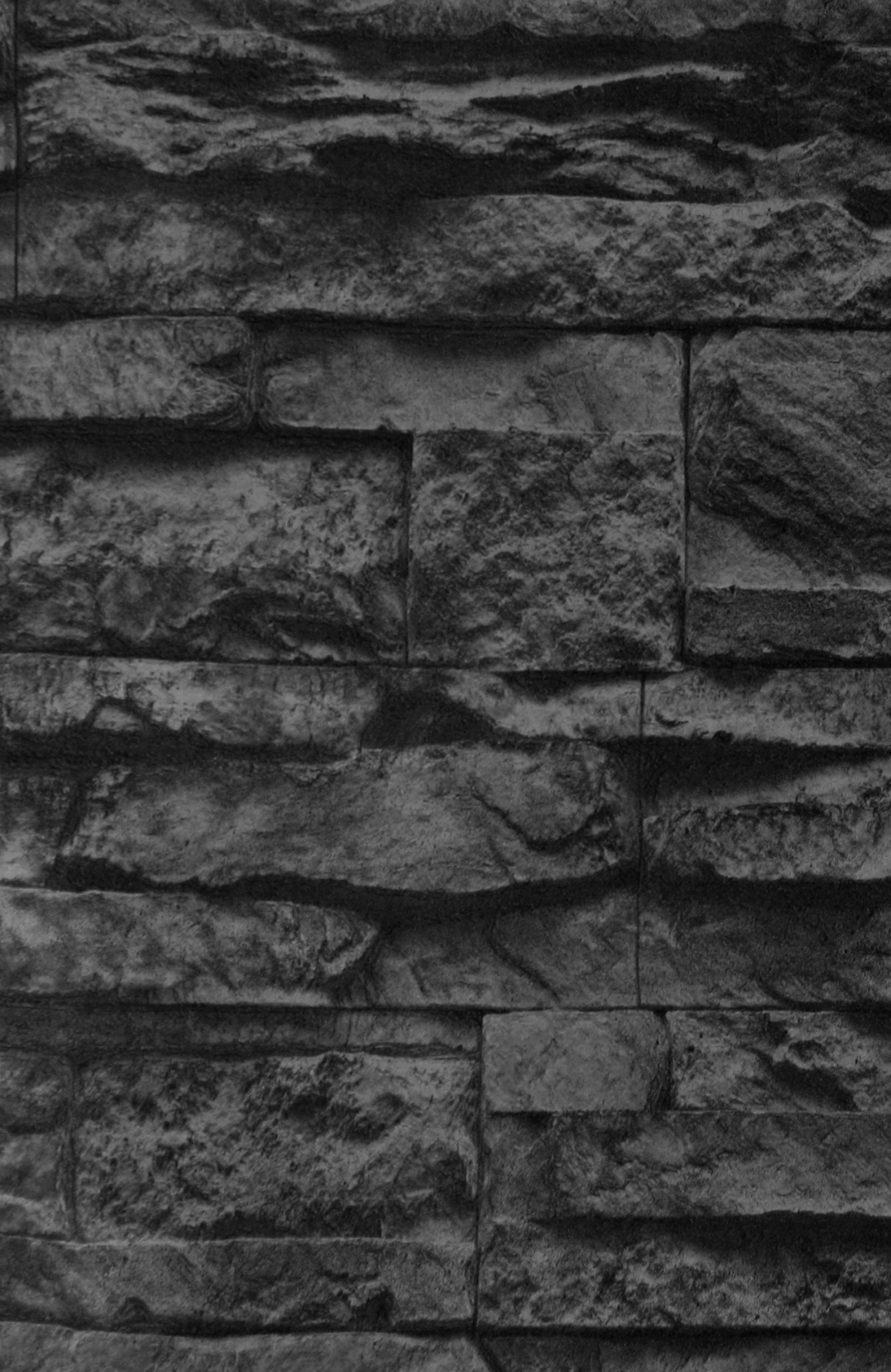 Tapete vlies steine schwarz as creation 7071 23 for As creation tapeten gunstig