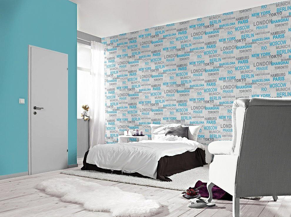 tapete rasch vliestapete 766714 metropolen paris munich. Black Bedroom Furniture Sets. Home Design Ideas