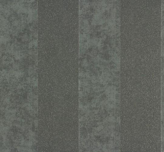Vliestapete memory tapete streifen 95373 4 953734 schwarz for Tapete schwarz silber
