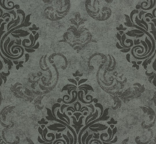 vliestapete memory tapete barock 95372 3 953723 schwarz grau silber. Black Bedroom Furniture Sets. Home Design Ideas