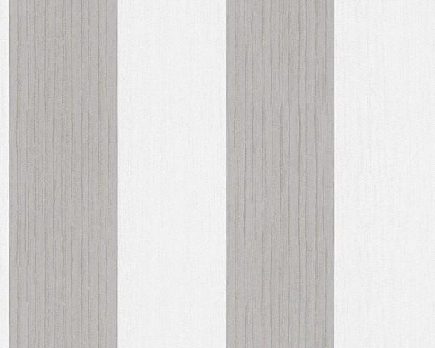 tapete streifen braun weiss die neuesten innenarchitekturideen. Black Bedroom Furniture Sets. Home Design Ideas