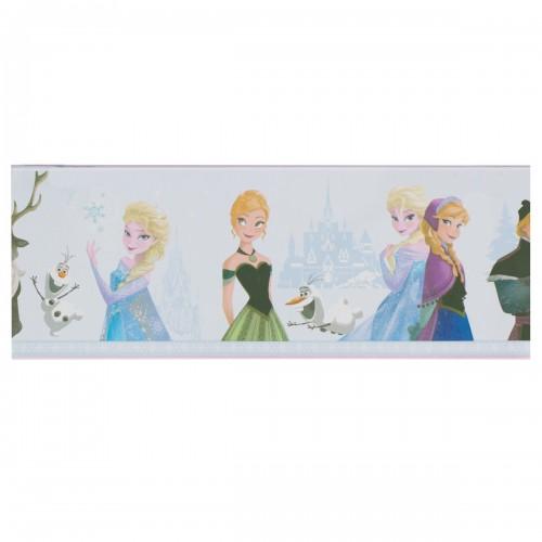 Bild Disney Eiskönigin Frozen Wandbild Kinder 35x35 cm Keilrahmen