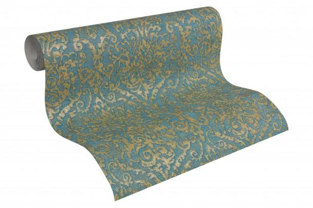 Schlafzimmer Blau Gold: Schlafzimmer wandfarbe ideen in fotos ...