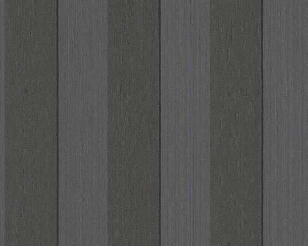 Barock Tapete Schwarz Grau : Tapete Vlies Streifen schwarz grau Tessuto 96194-4 online kaufen