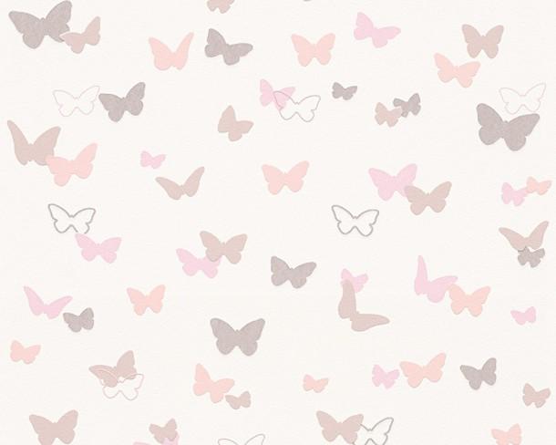 Barbara Becker Tapete Schmetterling : Tapete Esprit Kids Kinder Schmetterling wei? 30289-1 online kaufen