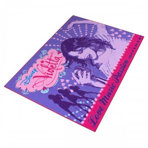 Fototapeten Jugendzimmer M?dchen : Disney Teppich Violetta M?dchen Kinderteppich 95×133 cm online kaufen