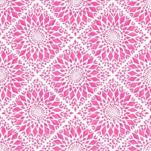 Textil Tapeten Verarbeiten : Tapete Vlies Ethnodesign Mosaik Rasch Textil pink 148610 online kaufen