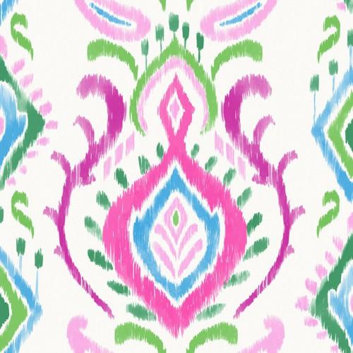 Textil Tapeten Verarbeiten : Tapete Vlies Ethnodesign Ornamente bunt 148648 online kaufen