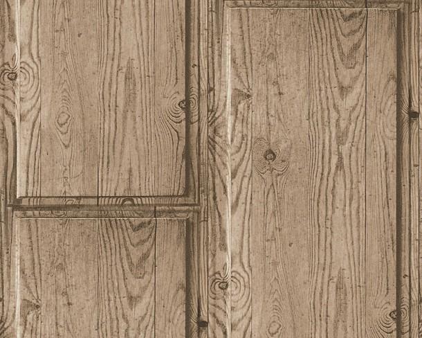 Tapete Holzoptik As Creation : Tapete Vlies Holz Holzoptik AS Creation braun 30749-2 online kaufen