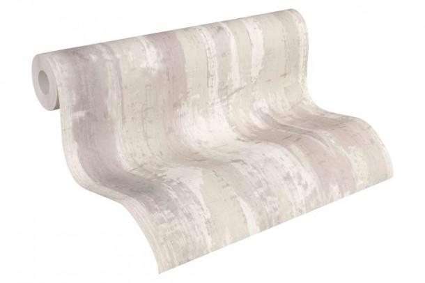 Vinyl Tapeten Hersteller : Tapete Vinyl Shabby Used Design grau AS Creation 31949-1 online kaufen