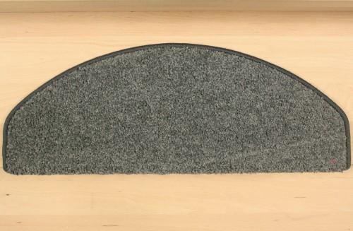 Teppich Stufenmatten Hochflor Shaggy Stufen anthrazit