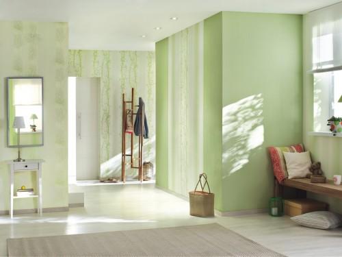 rasch vliestapete streifen gr n 731767 easy passion. Black Bedroom Furniture Sets. Home Design Ideas