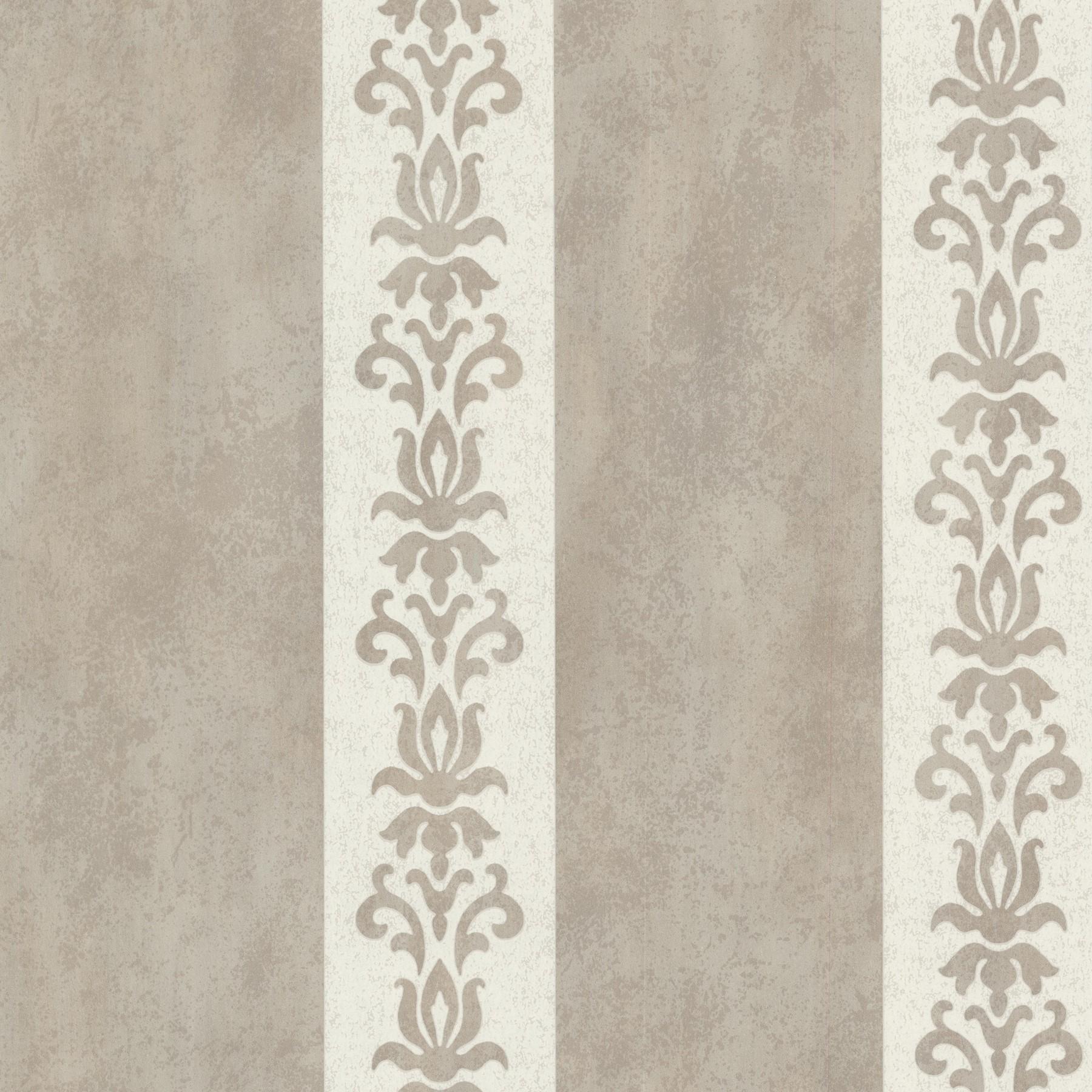 tapete onyx vliestapete rasch textil 020075 streifen grau beige creme. Black Bedroom Furniture Sets. Home Design Ideas