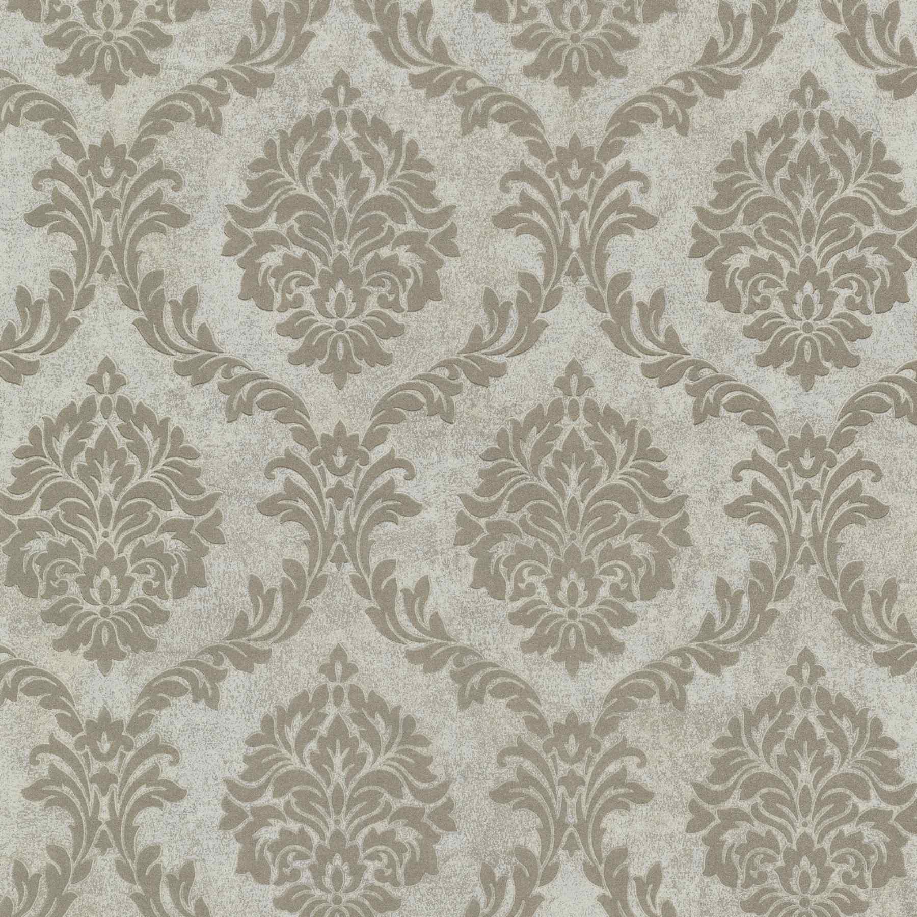 Barock Tapete Auf Leinwand : Vliestapeten Rasch Textil Buckingham Tapete 069059 Barock grau beige