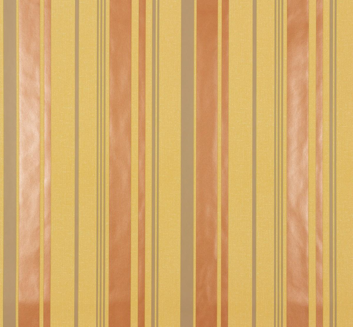 Retro Tapete Orange Braun : Ornamental Home Tapete 55243 Streifen gelb braun orange beige