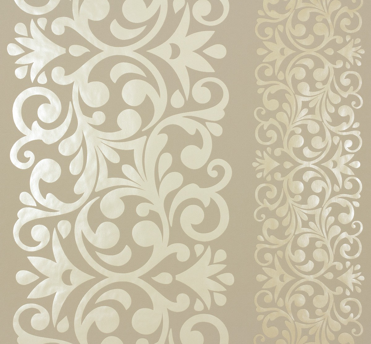 Marburg Tapeten Ornamental Home : Marburg Vliestapete Ornamental Home Tapete 55237 Floral Ranken beige