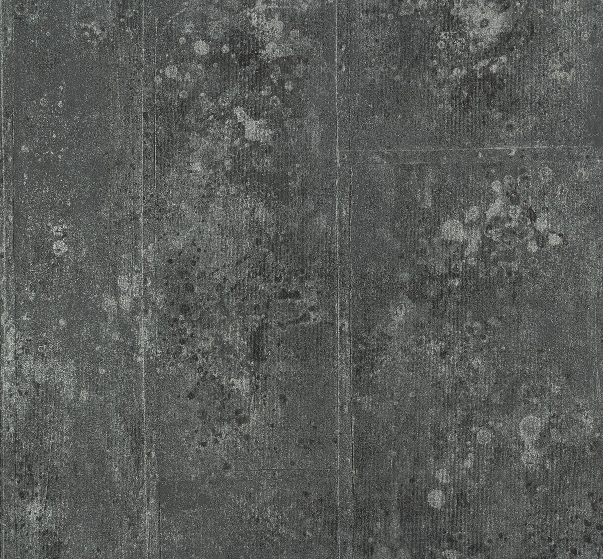 p s origin 42100 30 tapete vlies beton optik schwarz silber metallic 2 81 1qm ebay. Black Bedroom Furniture Sets. Home Design Ideas