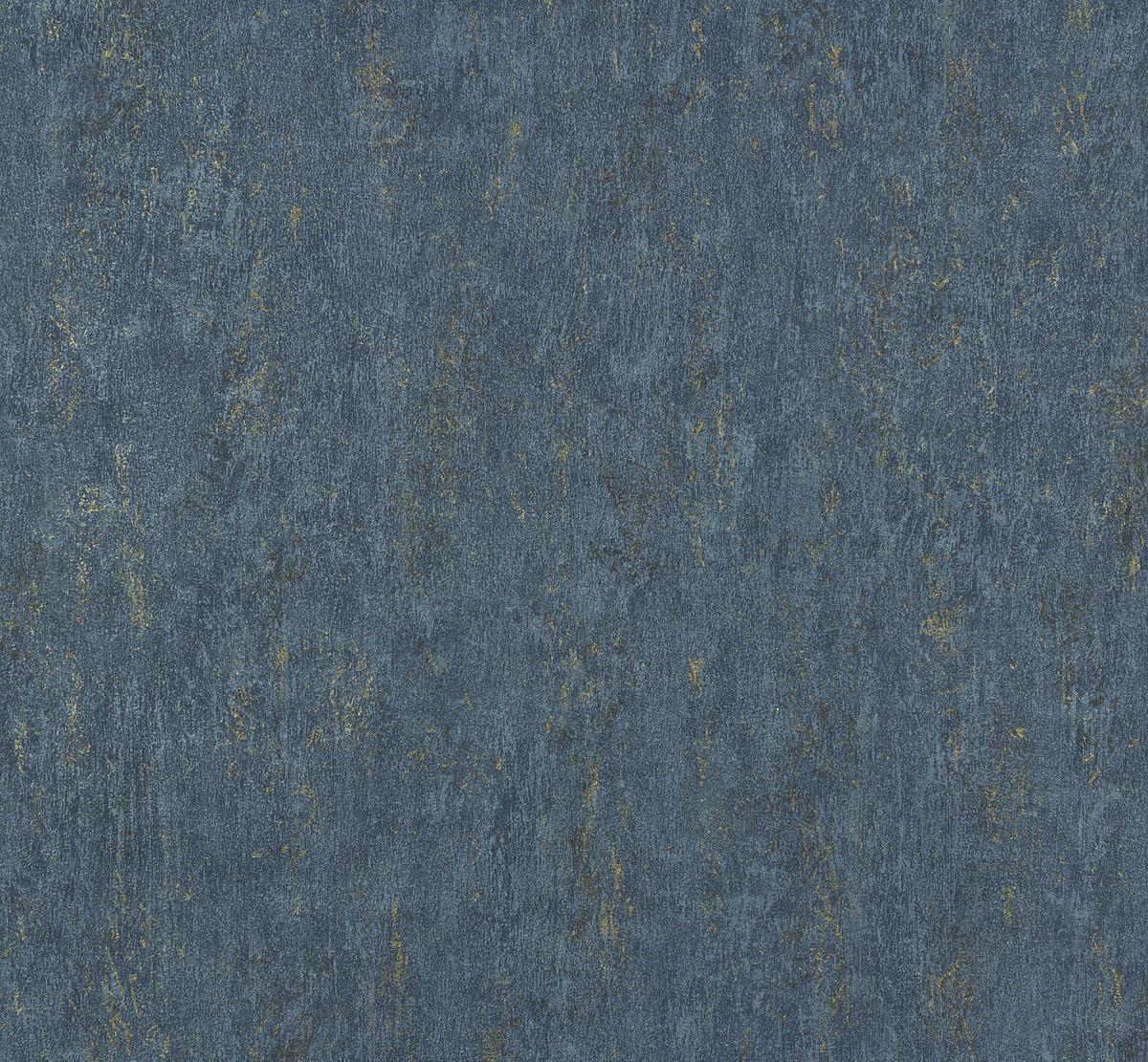 P.S Origin 42107-60 Tapete Vlies Modern Beton Optik blau ...