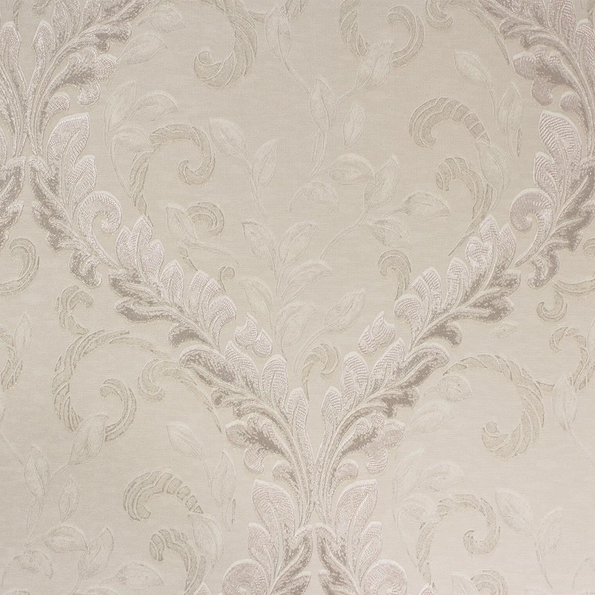 Barock Tapete Auf Leinwand : Tapeten Angelica Barock creme rosa Tapete Rasch Textil 005314