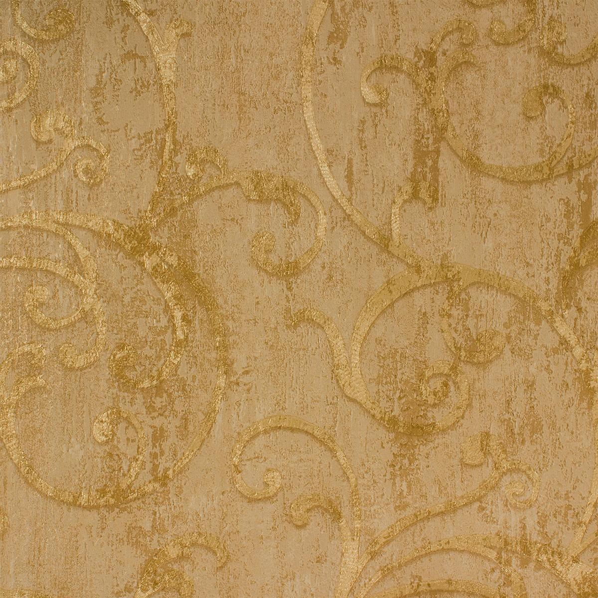 Barock Tapete Auf Leinwand : Tapeten Angelica Barock Struktur gold Tapete Rasch Textil 009533