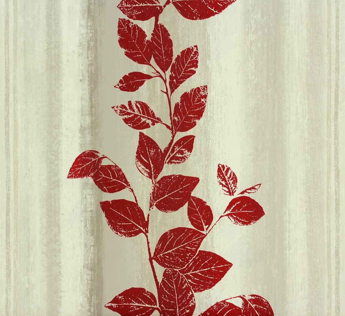 vliestapete struktur blumen grau rot tapete rasch fiducia 424720. Black Bedroom Furniture Sets. Home Design Ideas